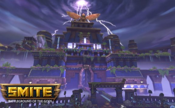 SMITE - Conquest Map The Rising Storm Update