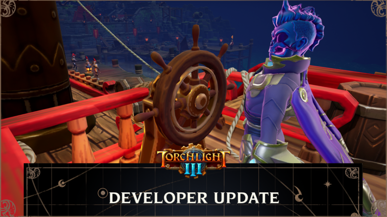 Torchlight III Revealed New Class - Cursed Captain