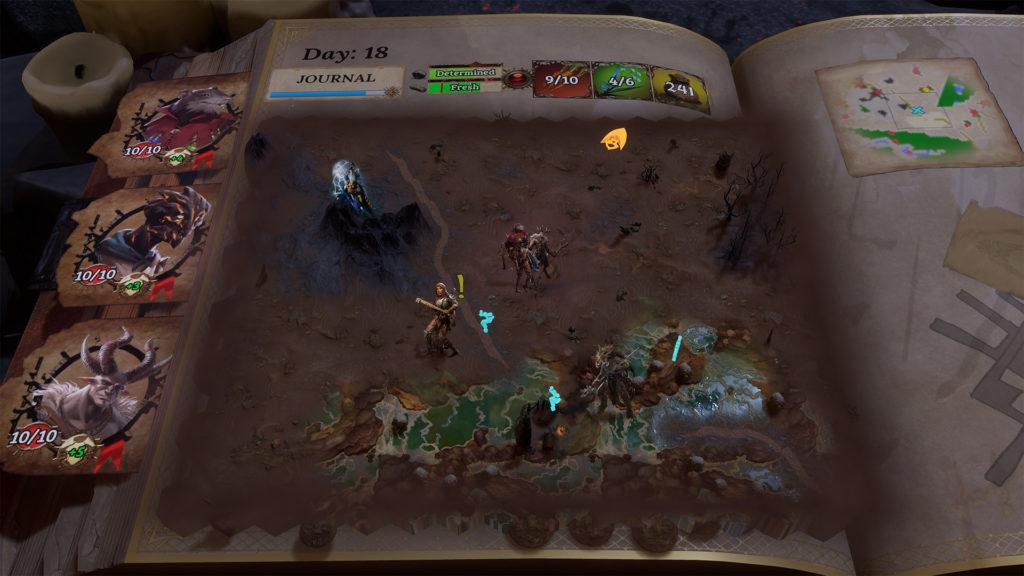 Trials Of Fire Screen Shot Overworld