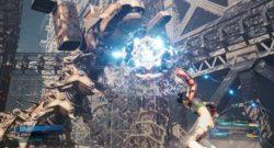 Final Fantasy VII Remake Intergrade Yuffee takes on a giant robot
