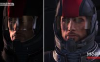 Mass Effect Legendary Edition Comparison Trailer - shepherd face comparison