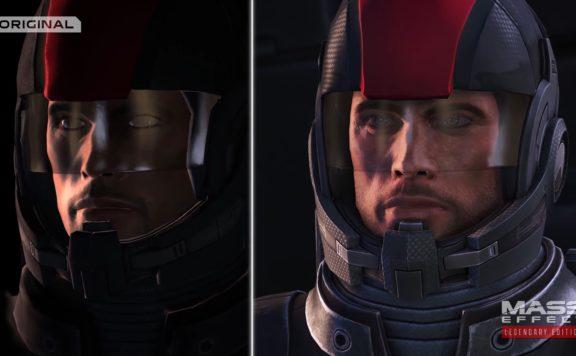 Mass Effect Legendary Edition Comparison Trailer - shepherd face comparison