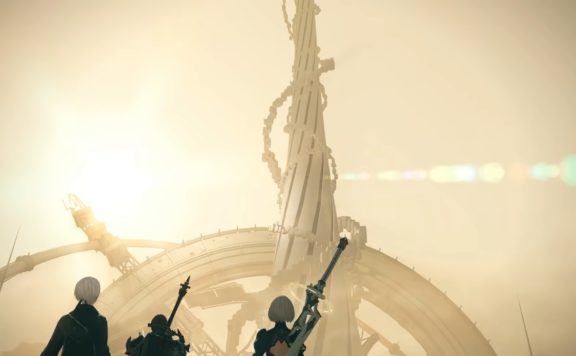 Final Fantasy XIV Sahdowbringers Death Unto Dawn patch 5.5 Nier raid screenshot