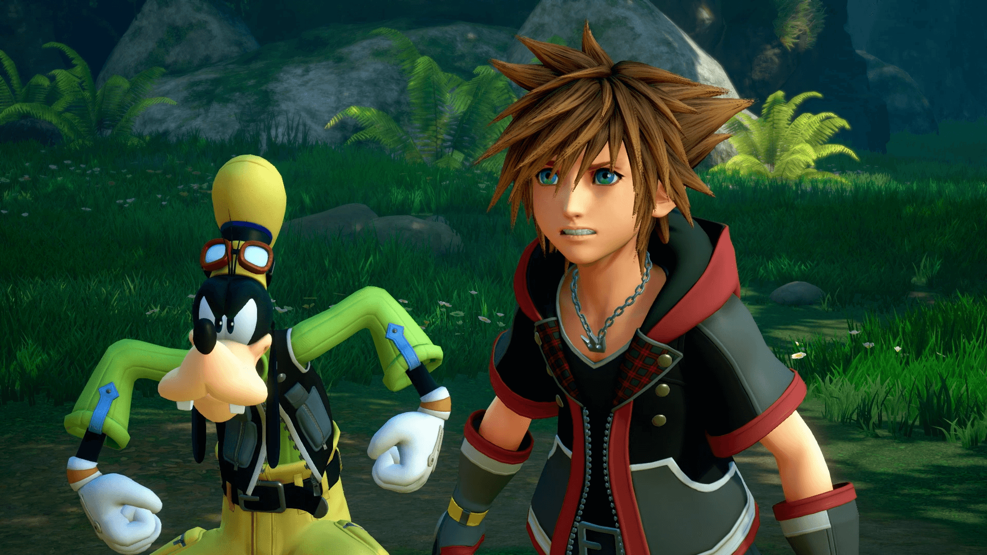 Goofy's ready for anything in Kingdom Hearts 3.