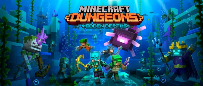 Minecraft Dungeons - Hidden Depths DLC Arriving on May 26