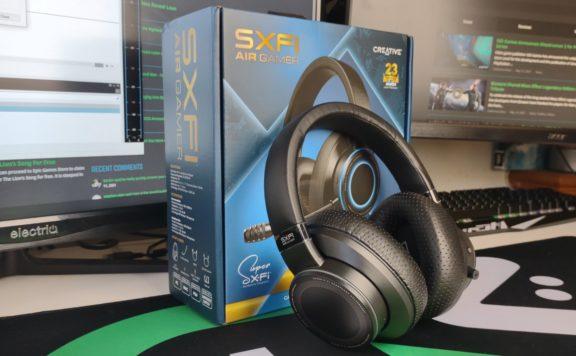 SXFI Air Gamer Wireless Headset Review