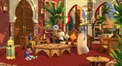 The Sims 4 Announces Courtyard Oasis Kit