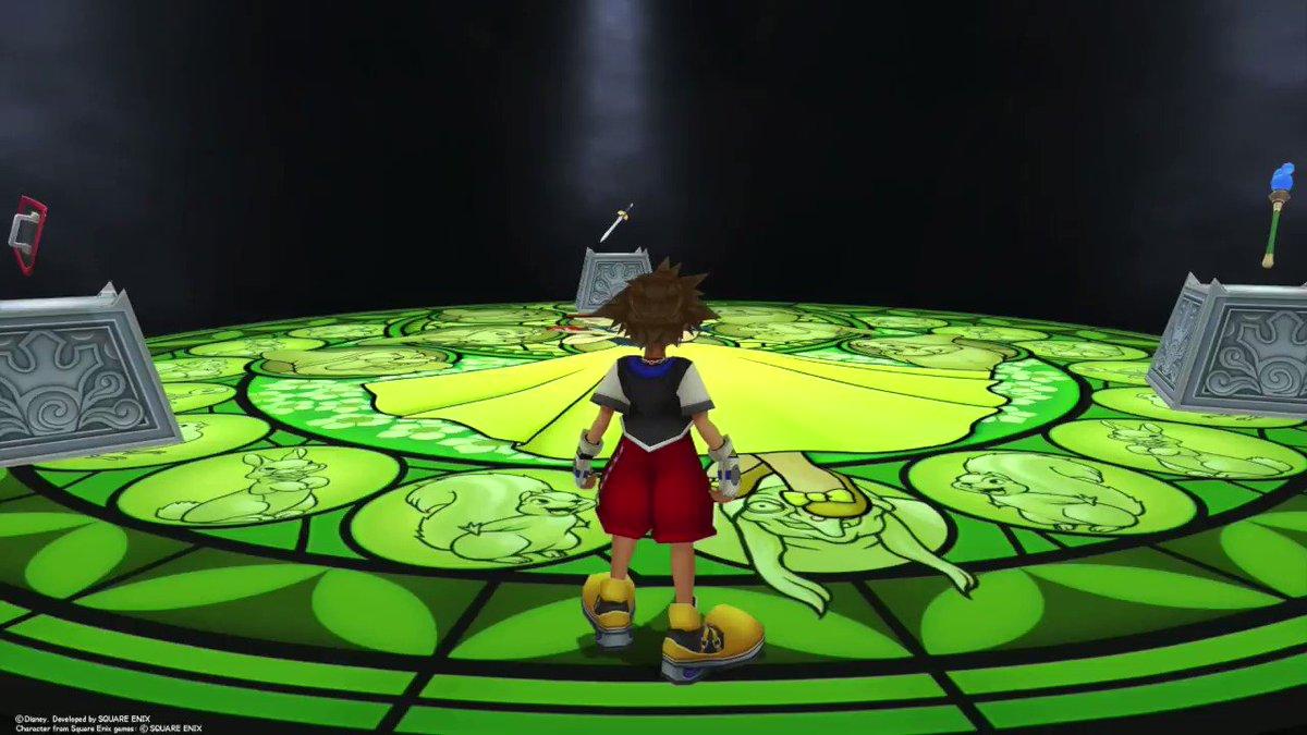 Kingdom Hearts 1, Sora deep dives.
