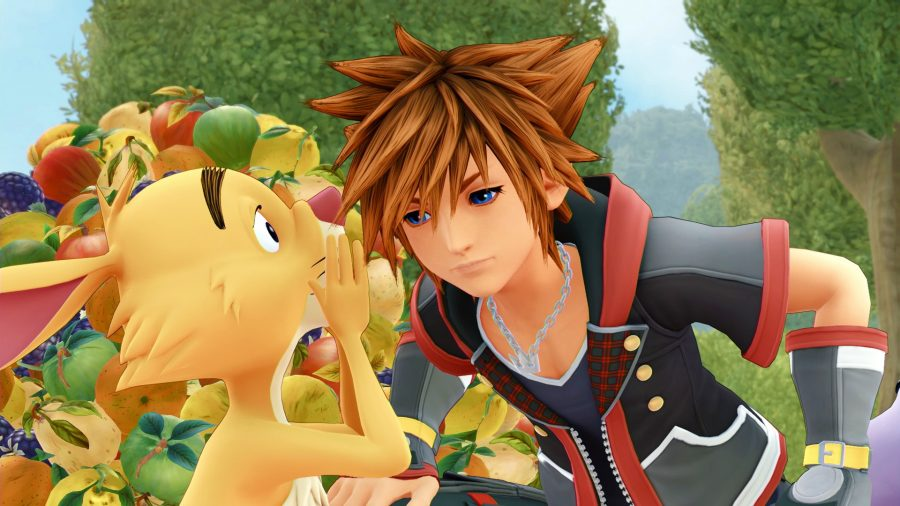 Rabbit whispers the secrets to a good PC port to Sora in Kingdom Hearts 3.