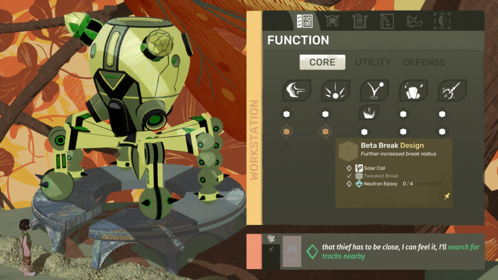 Stonefly upgrades and mechs