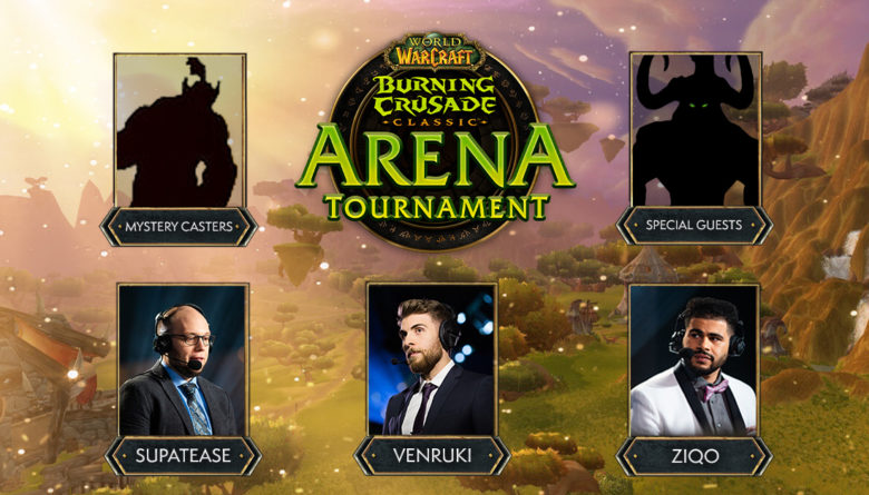 WoW Burning Crusade Classic Arena Tournament
