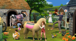 EA Announced The Sims 4 Cottage Living expansion pack!