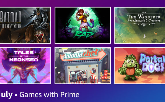prime gaming in july - free games list