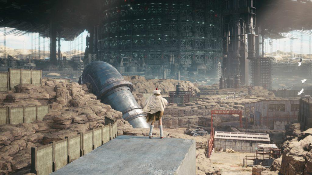 FINAL FANTASY VII REMAKE_ Yuffie Enters District 7