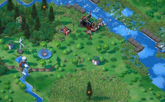 Terra Nil - Reverse City Builder Reveal Trailer