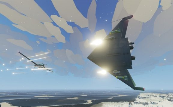 two fighters in combat - MicroProse Loads Up Carrier Commander 2 and Regiments For Steam Next Fest