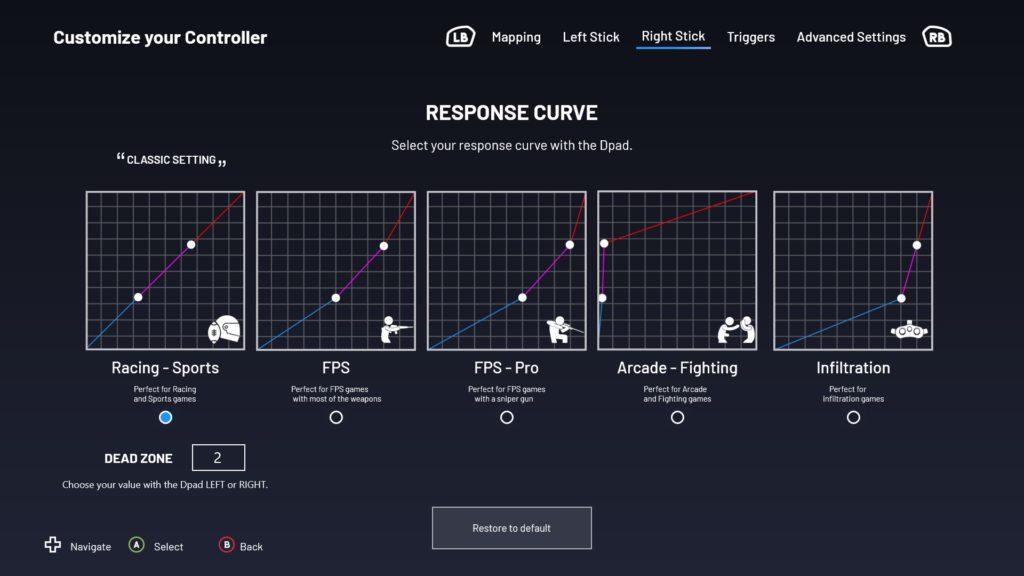 nacon controller curve