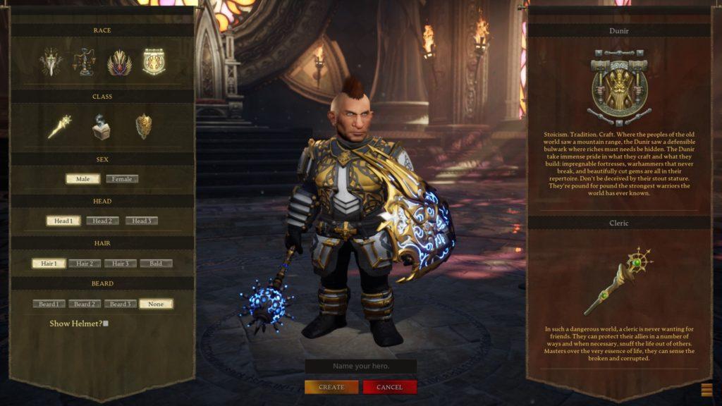 AOC character creator