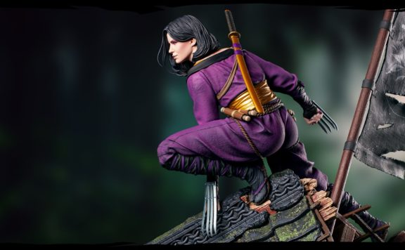 Check Out Yennefer the Kunoichi Figure