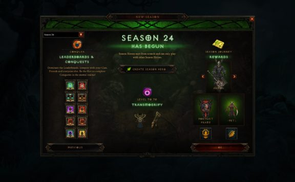 Diablo 3 - Season 24 Ethereal Memory Preview Blog Post