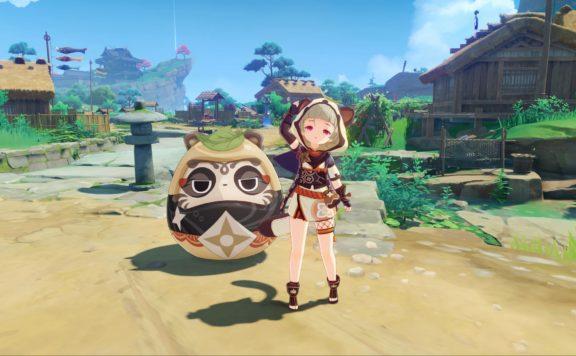 Genshin Impact 2.0 character screenshot