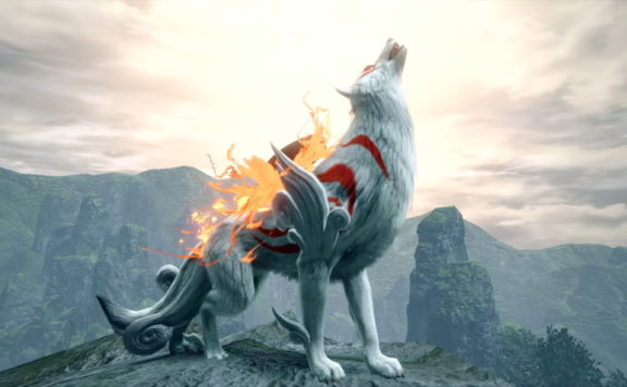 Monster Hunter Rise Is Getting Okami Collab