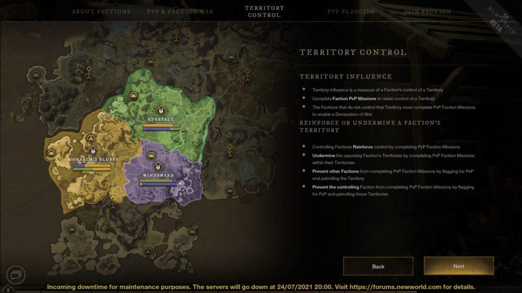 New World Closed Beta factions