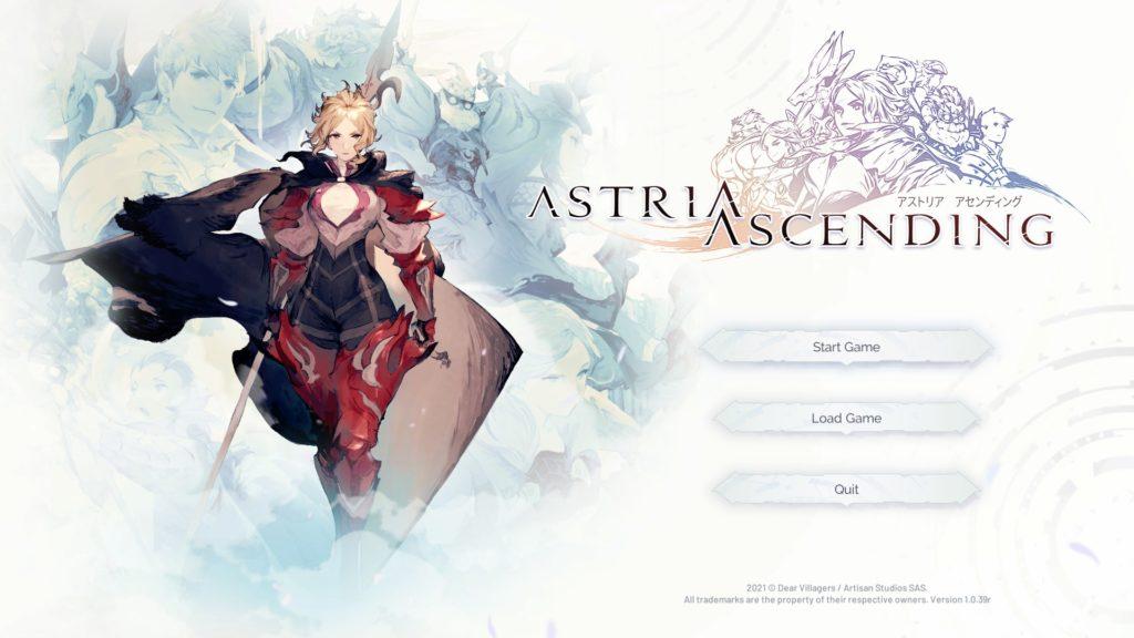 Astria Ascending Start