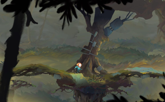 Out of Line - Hand-Drawn Platformer Now Available On Switch