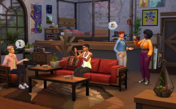 The Sims 4 - Industrial Loft Kit is Available Now