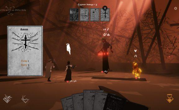 black book - combat screenshot