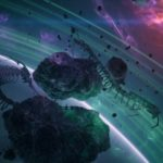 asteroids in sapce