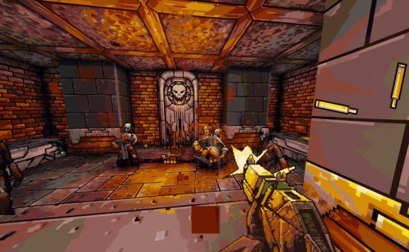 project warlock 2 kickstarter screenshot shooting zombies