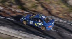 WRC 10 Gives A Glimpse Of Colin McRae's Subaru - shot of the subarua impreza