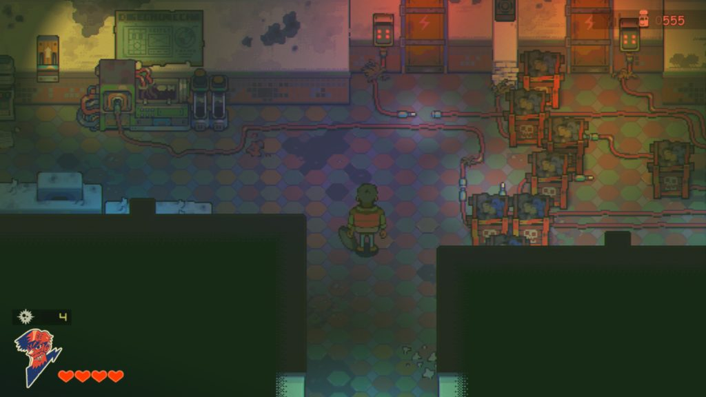dungeons and puzzles but mostly explosives in this Eastward map