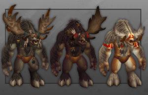 World of Warcraft Shadowlands Patch 9.1.5 New Highmountain Tauren Customization Options