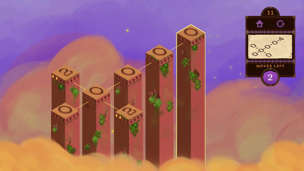 Mystic Pillars 4 Puzzle
