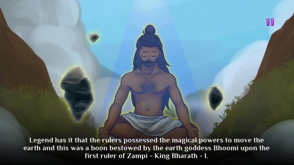 Mystic Pillars King Bharath