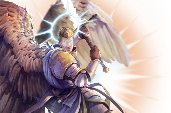 Pathfinder Wrath of the Righteous - Angel