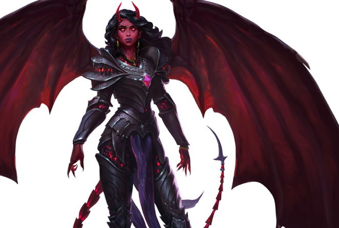 Pathfinder Wrath of the Righteous - Demon