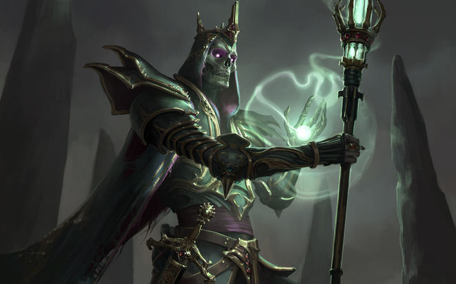 Pathfinder Wrath of the Righteous - Lich