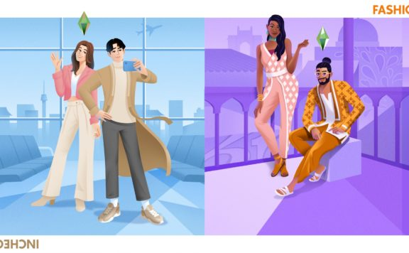 The Sims 4 - The Incheon Arrivals Kit - Fashion Street Kit