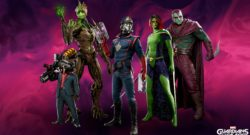 Guardians Of The Galaxy Take On The Church In A New Story Trailer - picture of the guardians in throwback outfits