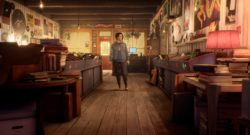 Life Is Strange: True Colors Twitch Crowd Choice - protagonist in a book store