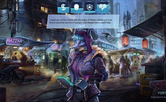 Save A Cyberpunk City As NeuroNet: Mendax Proxy Demo Joins Steam Next Fest
