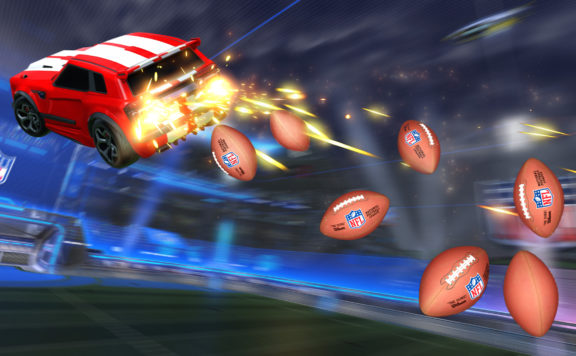 The NFL Rides Into Rocket League Today