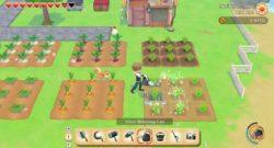 story of seasons turns 25 - screenshot of farming