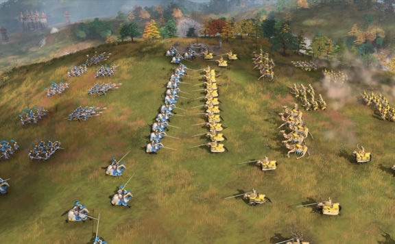 Age of Empires IV Showed Off The English