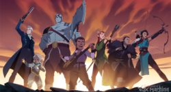 The Legend of Vox Machina Shared Animated Opening