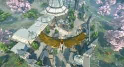 Elyon Is Out Today - pitcure of player flying over a landscape